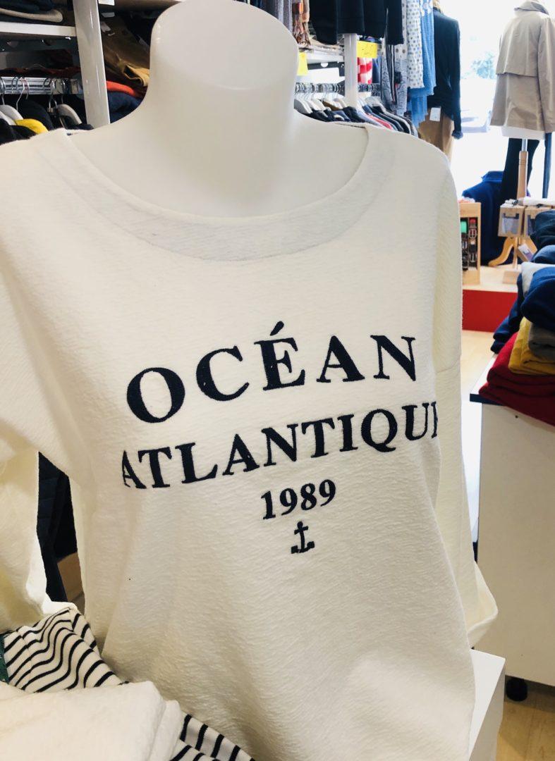 marinières ocean atlantique boutique femmes chic casual - Accueil