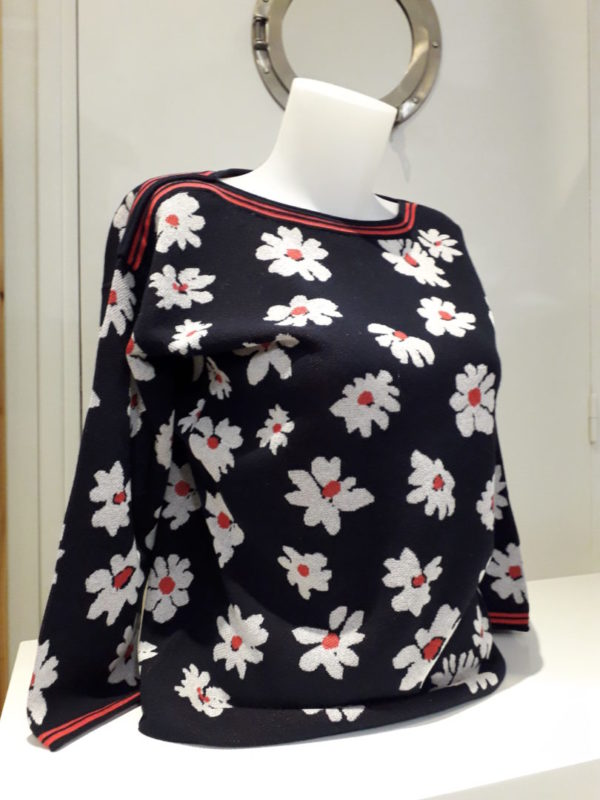 pull motif floral rabes - Pull motif floral Rabes